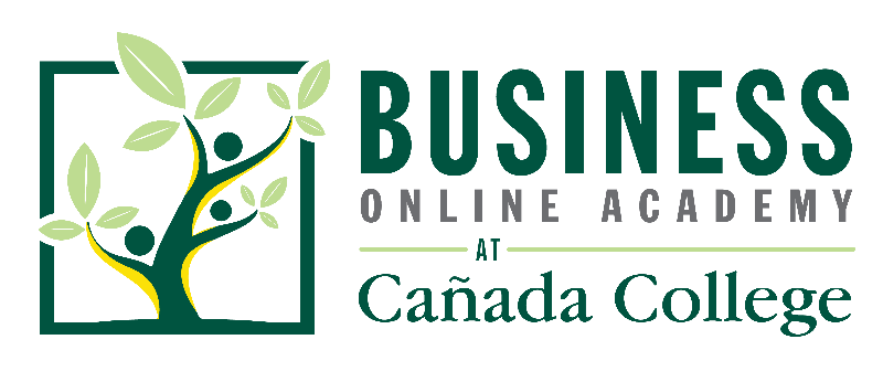 Business Online Academy at Cañada College