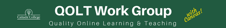 Quality Online Learning & Teaching Work Group