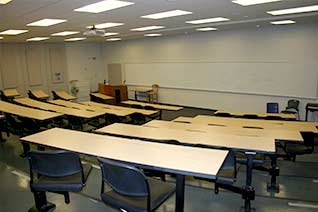 theatre-style lecture hall
