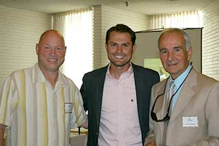 2012 Inductee-Jim  Zylker, Current Men's Head Soccer Coach- Erik Gaspar,  2014 Inductee- Frank Mangiola