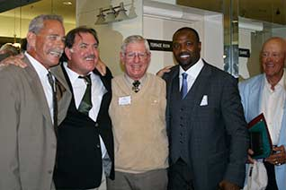 Inductees, Keith Comstock, Mike Garcia, Lyman Ashley, Harold Reynolds, Jerry Drever