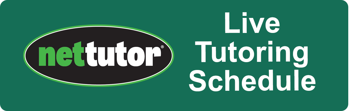Live Tutoring Schedule