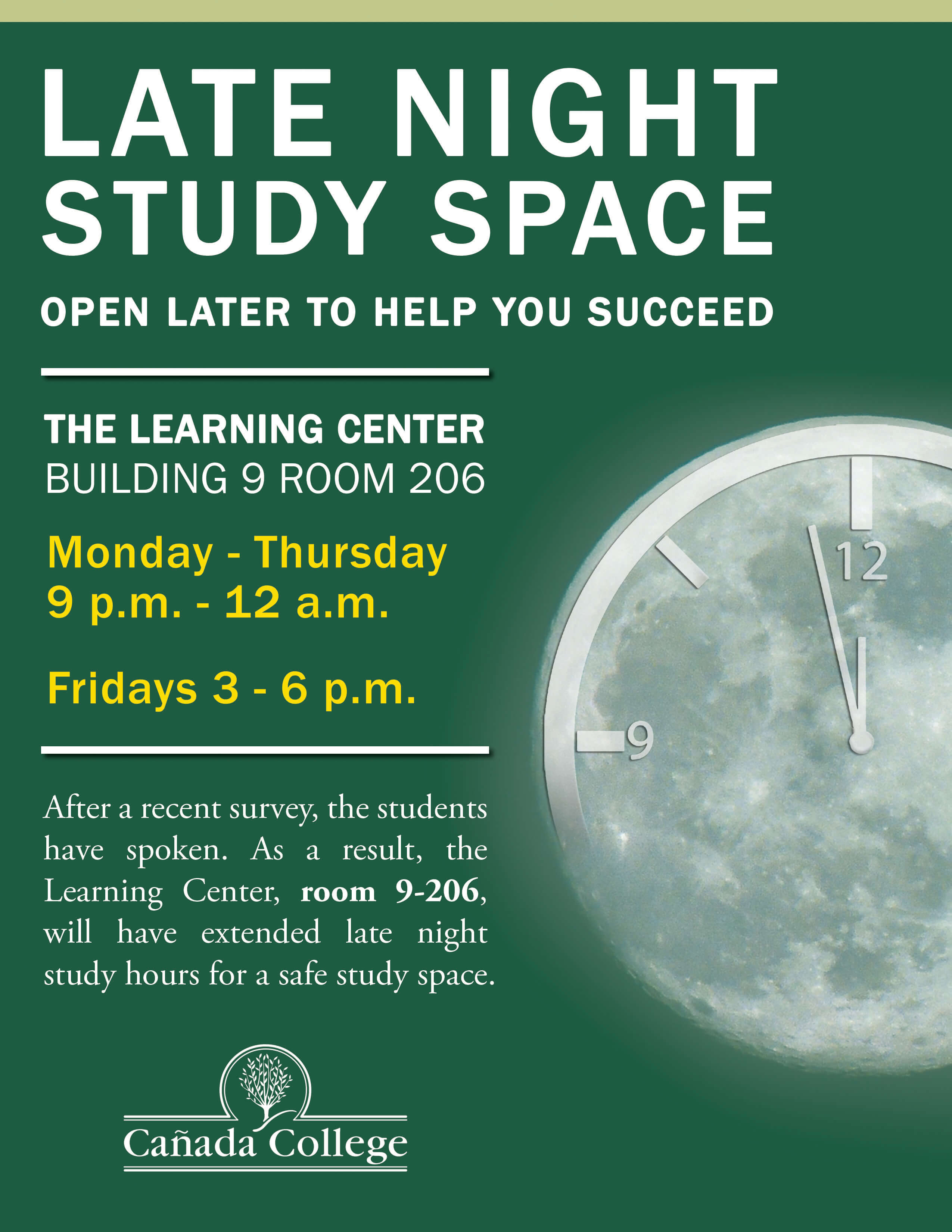 Extended Study flyer
