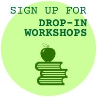 Button for signing up for drop-in workshops
