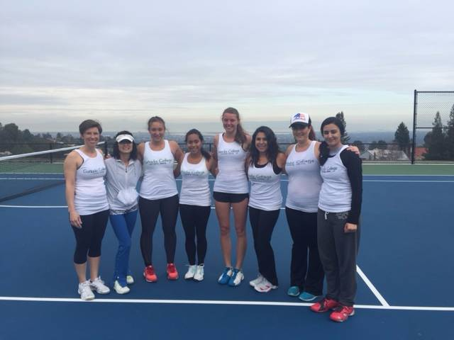 2015 Women Tennis Team